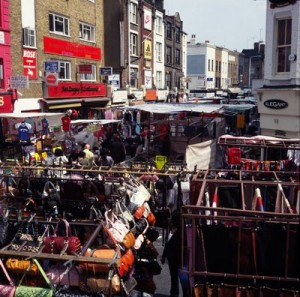 Mercatino delle pulci Londra