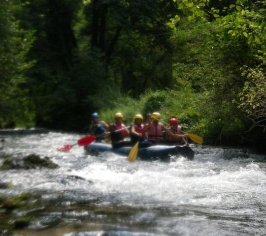 Parco dei sibillini - rafting a Norcia